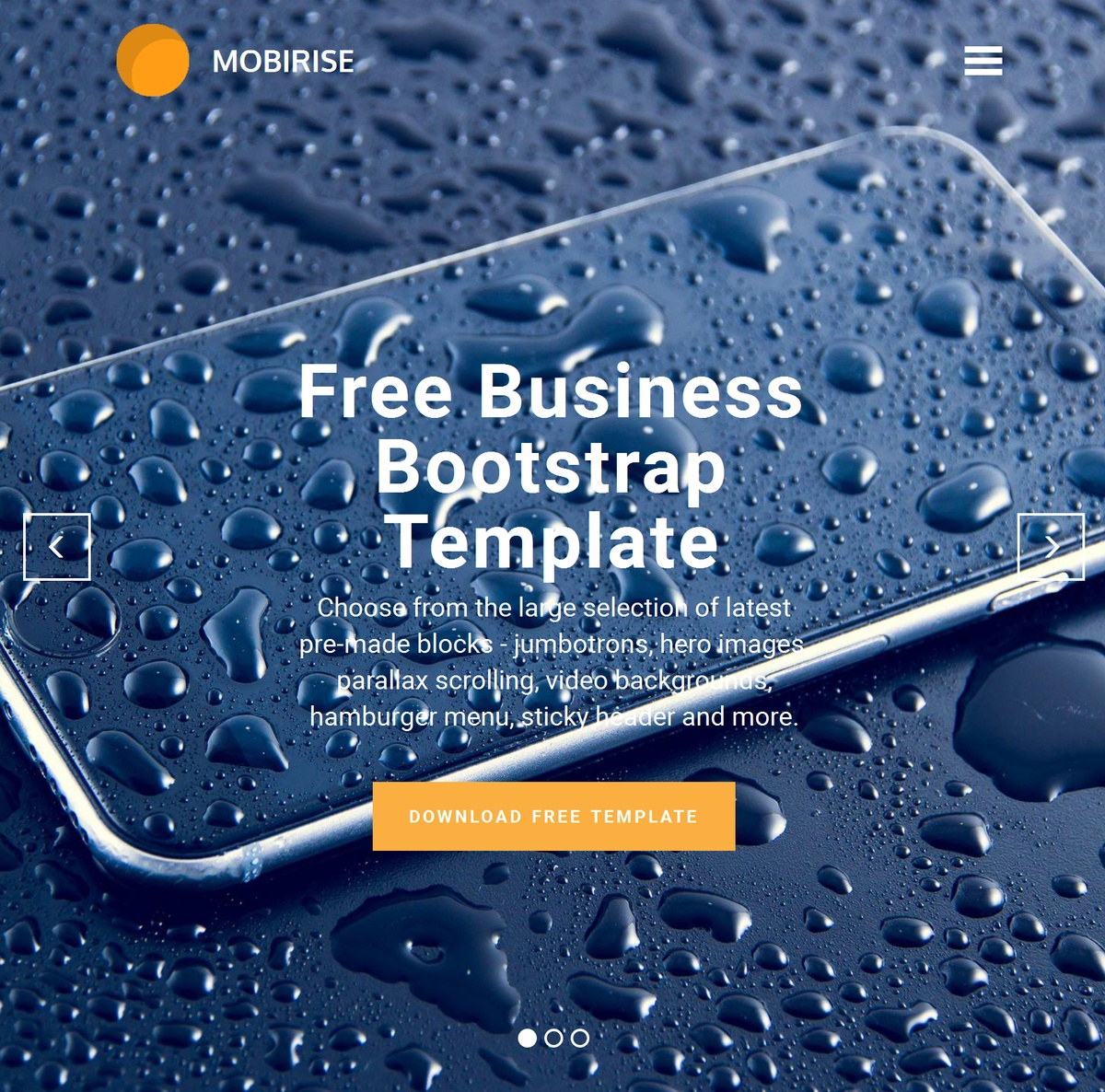 Free Responsive Website Templates Themes Extensions