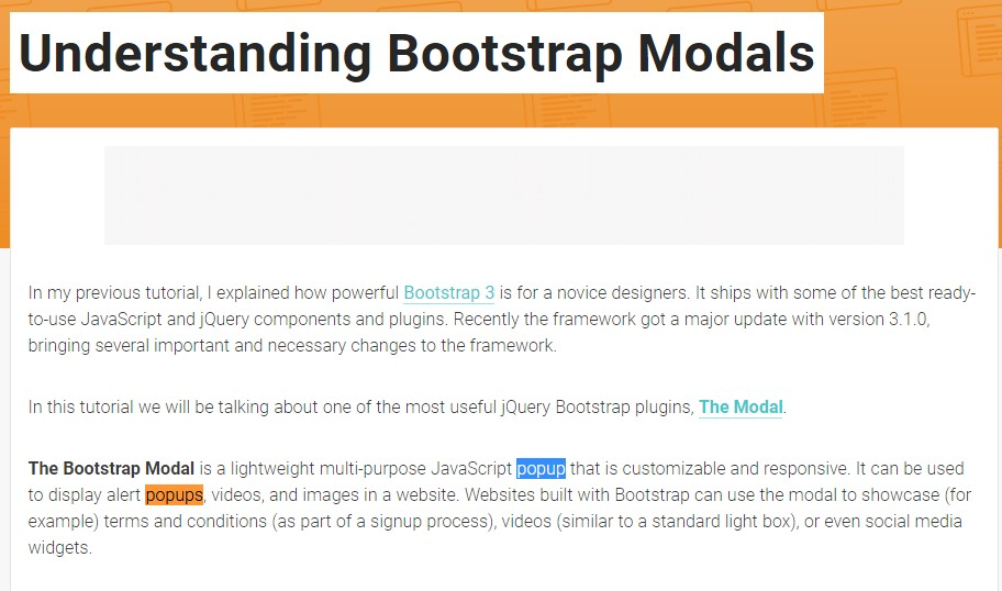 Another  beneficial  content about Bootstrap Modal Popup