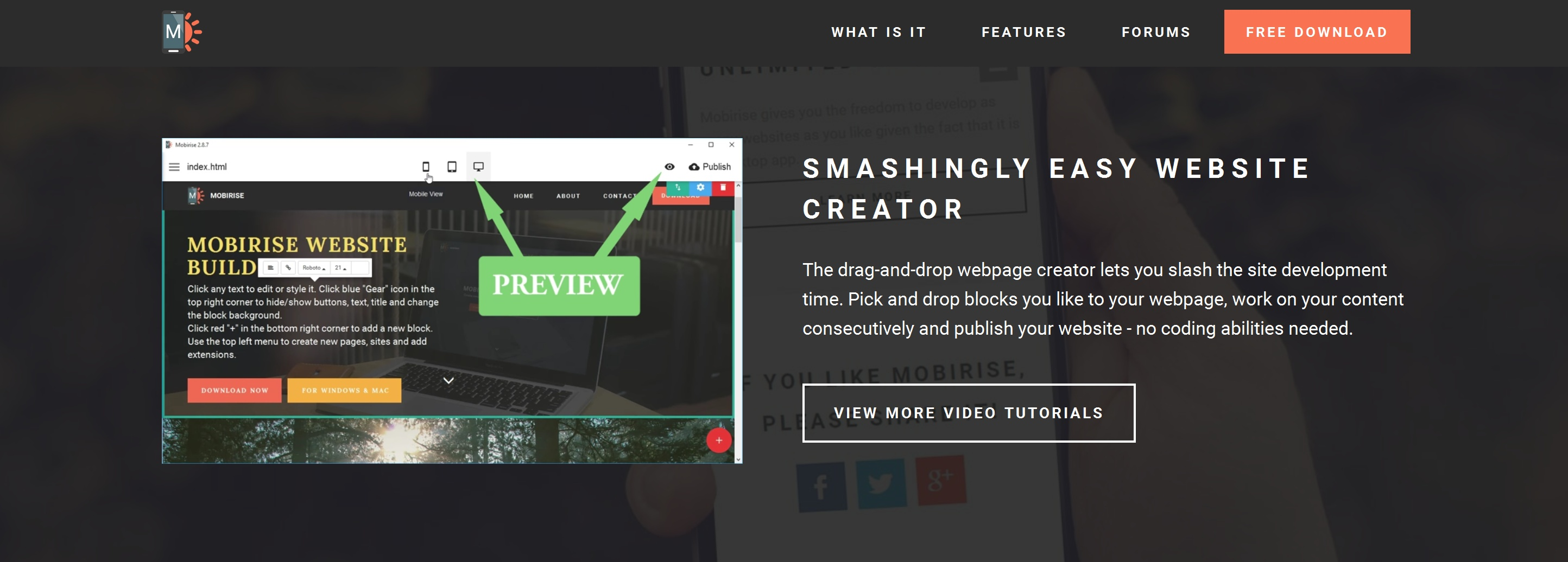 Quick HTML5 Web Page  Creator Review