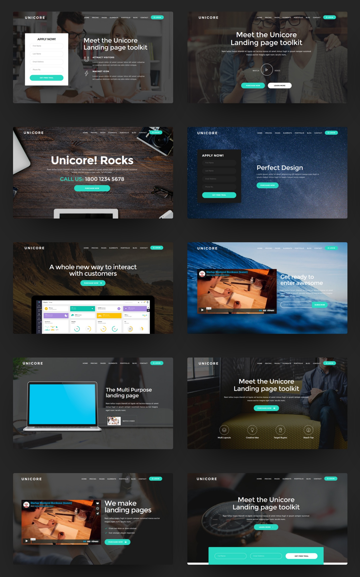 Free Bootstrap  Theme Template
