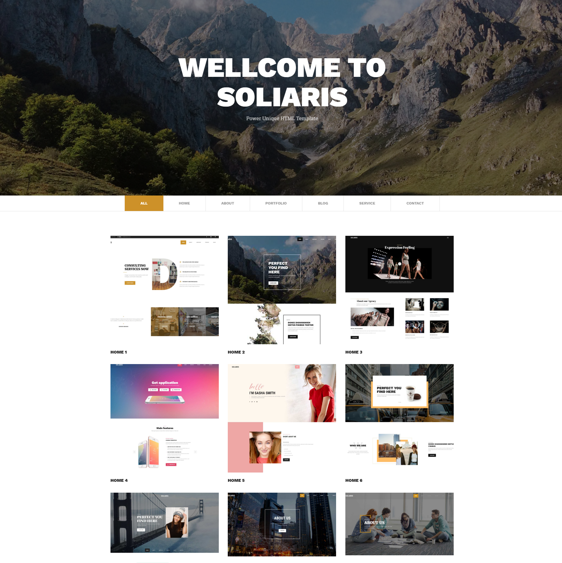 Responsive Bootstrap Soliaris Templates