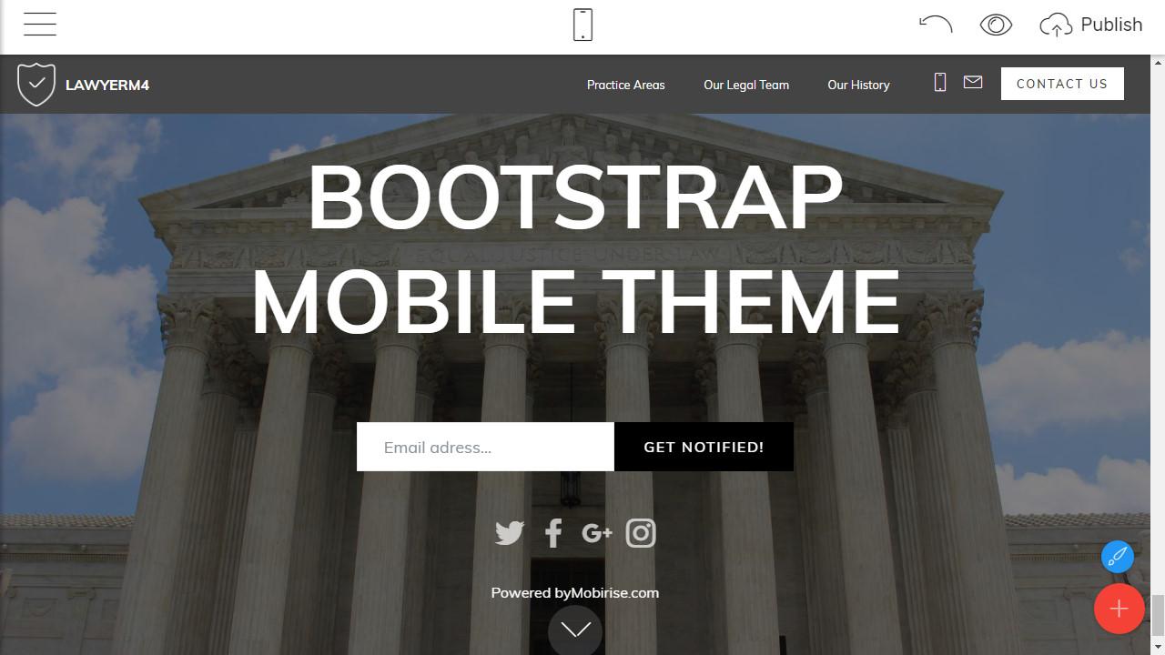 Responsive Mobile Theme