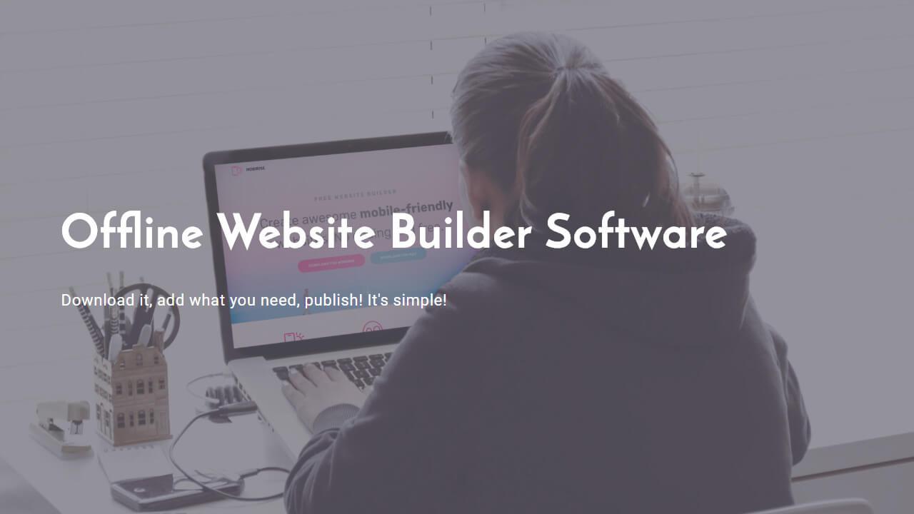 Offline Website Builder Software