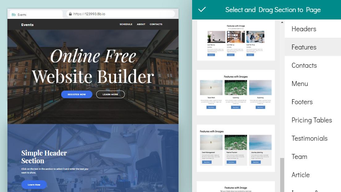 easy website maker